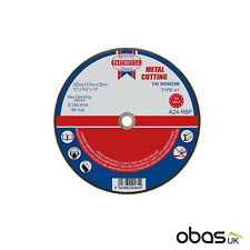 10 x Metal Cutting Disc Flat Blade Stainless Steel 300mm x 3mm