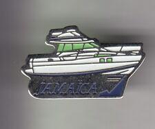 RARE PINS PIN'S .. BATEAU BOAT MOTEUR MOTOR HORS BORD PECHE FISHING JAMAICA ~DA