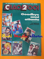 rivista CIAO 2001 52/1989 Anderson Bruford Houe Siouxie Goodbye Anni 80 * No cd