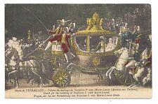 musée de  versailles  voiture du mariage de napoléon 1er