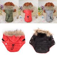 5 taille Pet Dog Coat petit chien vêtements manteau de fourrure doux manteau PM