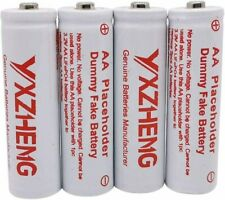 Fake dummy Battery AA Battery Place Holder Dummy Cell for AA LiFePO4 and Li-ion