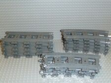 LEGO® Eisenbahn Train 13x Schienen grau 53400 53401 RC Track 3677 7938 R1230