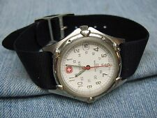 Men's SWISS ARMY Water Resistant Watch by WENGER w/ New Battery