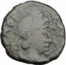 Honorius  395AD Authentic Ancient  Roman Coin Victoty Nike  i32509