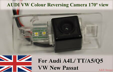 Rear View Reversing Parking Colour Camera LED For Audi A4 TT A5 Q5 VW New Passat