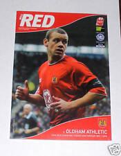 Bristol City -v- Oldham Athletic  2004-2005 FREEPOST