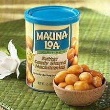 BUTTER CANDY GLAZED * MAUNA LOA MACADAMIA NUTS 6 / 5.5 OZ