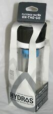 Hydros Filtering Water Filter Bottle Reduce Chlorine Chloramine Silt Side Fill
