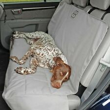 Petego Emanuele Bianchi  Dog Car Auto Pet Rear Seat Cover Protector Grey
