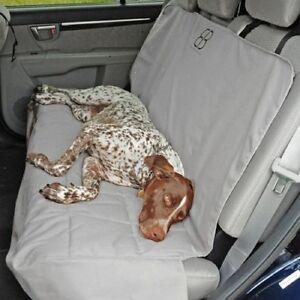 Petego Emanuele Bianchi  Dog Car Auto Pet Rear Seat Cover Protector Grey