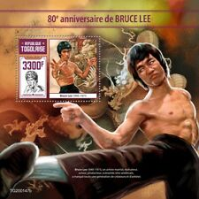 Togo 2020  Bruce Lee, Chinese American martial artist  S202004