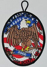 Adirondack Scout Camps (NY) 2006 Pocket Patch  BSA  ERROR