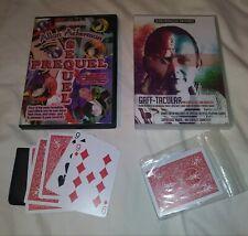 Allan Ackerman Card Magic 2 Dvd Gaff Cards Skinner 3 Card Monte MacDonalds Aces