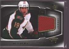 BRETT BULMER 2011-12 SPX ROOKIE JERSEY PATCH RC SP MINNESOTA WILD /799 $15