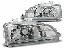 Headlights for Honda CIVIC 91-95 2D 3D Chrome LHD LPHO14-ED XINO