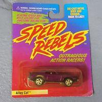 1997 Johnny Lightning Speed Rebels Alley Cat Mercury Cougar vtg diecast car