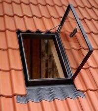 Velux Dachausstiegsfenster  54 x 83 cm GVT 103 0000Z  für Kalträume,schwarz