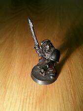 Warhammer 40k: Vintage Metal Space Marine Librarian - Force Sword - Rare