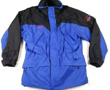 Columbia Omni Tech Waterproof Breathable Ski Snow Jacket Double Lined Mens Large