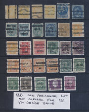 Canada OLD COLLECTION LOT Precancels High CV Lot #668