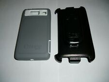 Otterbox Defender case + holster for Motorola Droid RAZR HD, Gray & White, NEW