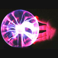 Electrostatic Magic Plasma Ball Sphere Lamp Office USB Light Lightning