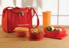 Tupperware Best Lunch Box Kit, Set of 2 Bowl,Square,Tumbler + Free Lunch Bag