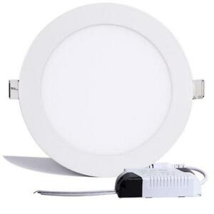 6W Led Recessed Ceiling Down Light Fixtures Lamp Panel Cool White 6500K Indoor