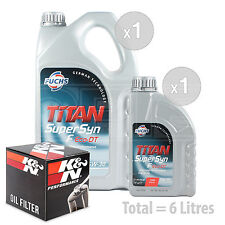 Engine Oil and Filter Service Kit 6 LITRES Fuchs Supersyn F Eco-DT 5w-30 6L