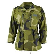 Original Swedish army heavy M90 jacket splinter camo military field troops NEW