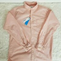 NWT Sonoma Mens Large Pink Flexwear Long Sleeve Button Down Shirt