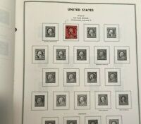 Catalina D30 Stamps Liberty US Stamp Album Harris 1966 With 735 Stamps Used Book