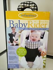 Baby Carrier Infantino Baby Rider Washable Adjustable 8-20 lbs Travel