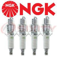 4 PCS - NGK 4838 Nickel (Solid Tip) Spark Plugs (BP8H-N-10)