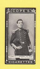 MILITARY  -  COPE BROS. - RARE MILITARY / NAVAL CARD -  E. C.  COOKSON  -  1917