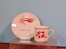 Demitasse cup and saucer Czechoslovakia