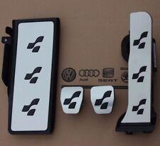 VW PASSAT 3c b6 b7 ORIGINALE r36 Pedalset CC Pedale Tappi Poggiapiedi R-Line