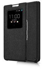 Genuine BLACKBERRY Keyone Smart Cover Custodia Flip Portafoglio Nero-FCB100