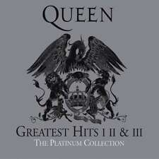 QUEEN Greatest Hits 1 2 3 The Platinum Collection ( Remastered ) 3 CD Box NEU
