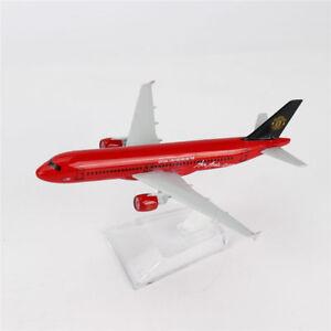 16cm 1/400 Airbus320 Air Asia.com Diecast Model BOEING A-320 Aircraft Plane