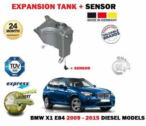 FO BMW X1 E84 16D 18D 20D 23D 25D DIESEL 2009-2015 EXPANSION WATER TANK + SENSOR