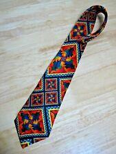 Vintage 1998 Electric Neckwear Silk Power Line Necktie / Tie - New!