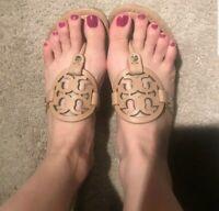Tory Burch Miller Light Makeup Sandals Size 8