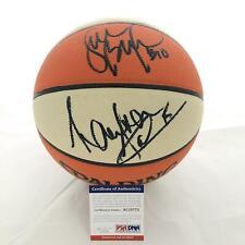 Sue Bird & Lauren Jackson Signed WNBA Basketball PSA/DNA Storm Autographed