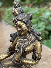 TIBETAN GILT BRONZE TARA PALA STYLE 18TH CENTURY OR EARLIER BUDDHA