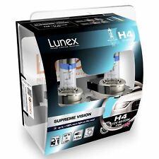 2x Lunex H4 Supreme Vision Halógeno + 100% más de luz 3700K