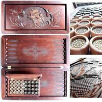 Watlux Luxury Wooden Backgammon Pieces Tournament Board Games Set Wood Large