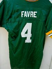 GREEN BAY PACKERS BRETT FAVRE #4 FOOTBALL JERSEY SIZE YOUTH X LARGE BY LOGO ATHL