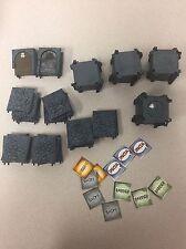 Mage Knight Dungeons 3D 80 Piece tiles/doors 2002 D&D Pathfinder Wizkids